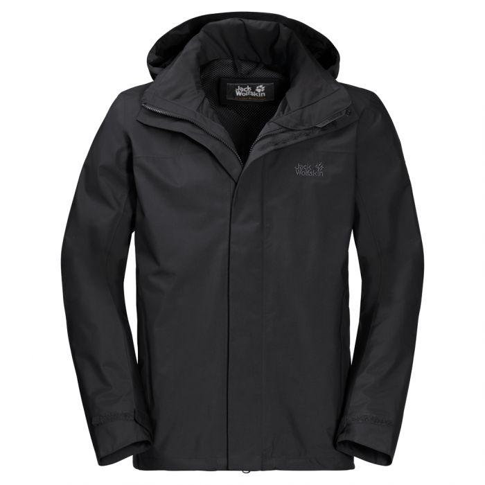kupuję teraz style mody wyprzedaż w sprzedaży Przeciwdeszczowa kurtka męska HIGHLAND JKT black