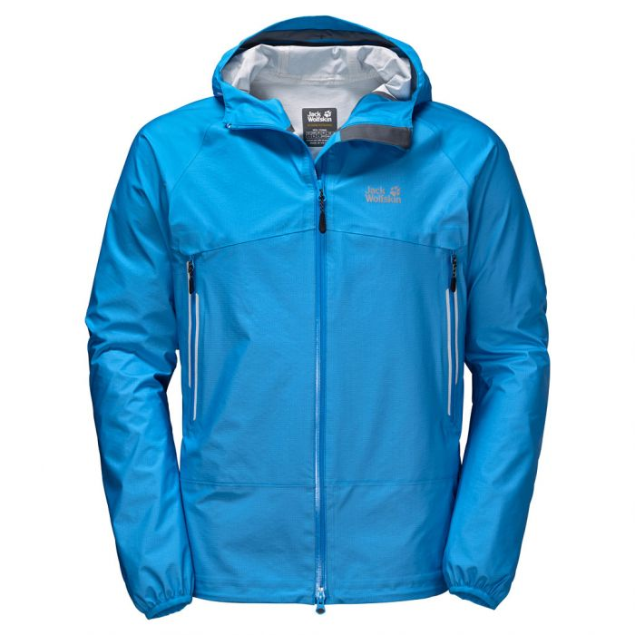 Kurtka MOUNTAIN PASS MEN ocean blue Jack Wolfskin