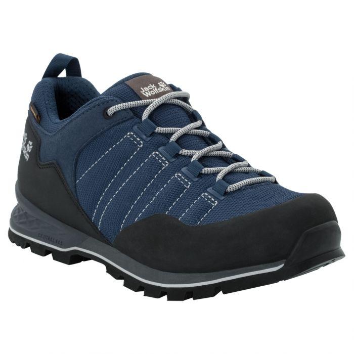 profesjonalna sprzedaż szeroki zasięg zniżki z fabryki Męskie buty trekkingowe SCRAMBLER LITE TEXAPORE LOW M blue / black