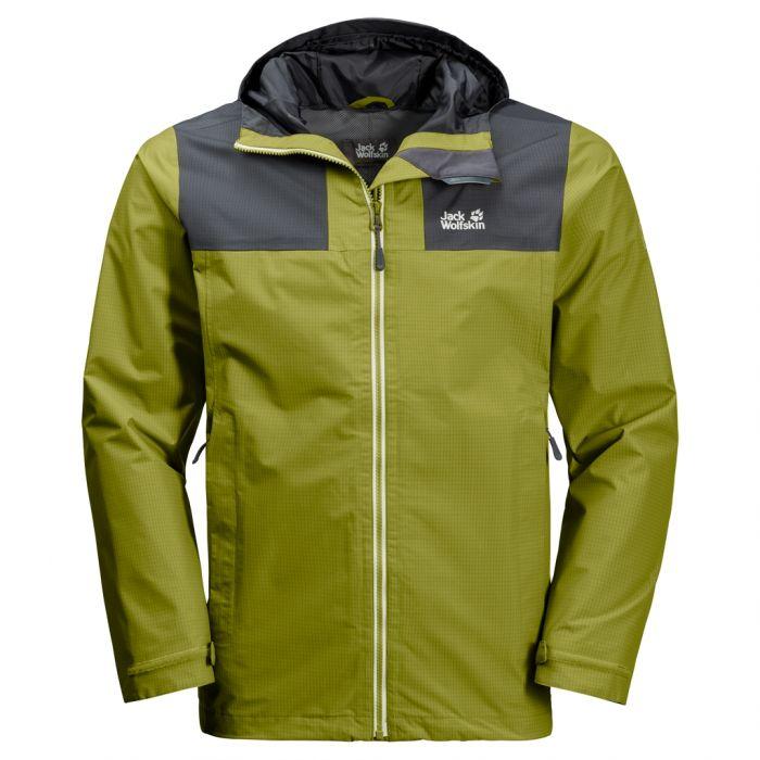 Najnowsza moda odebrane znana marka Przeciwdeszczowa kurtka męska JASPER PEAK JACKET eucalyptus green