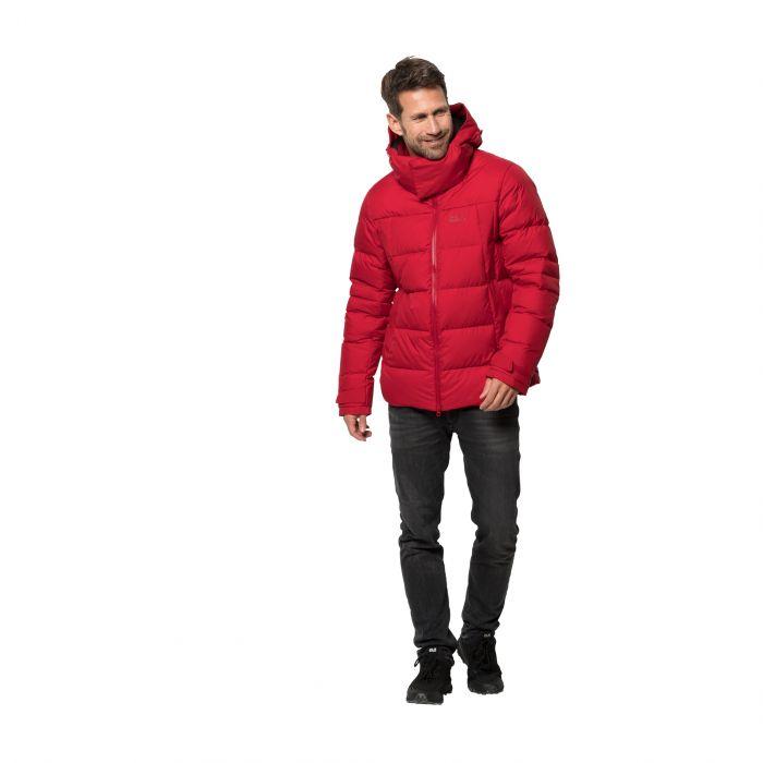 konkretna oferta sklep tania wyprzedaż usa Kurtka puchowa męska COLD LINE JACKET M red lacquer
