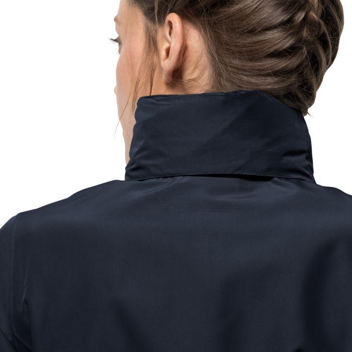 Damska kurtka przeciwdeszczowa STORMY POINT JACKET W midnight blue