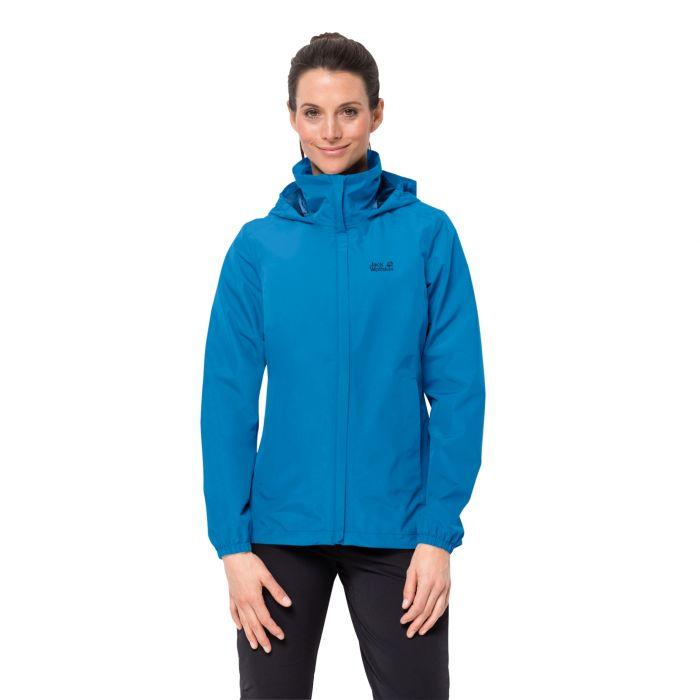Damska kurtka przeciwdeszczowa STORMY POINT JACKET W brilliant blue
