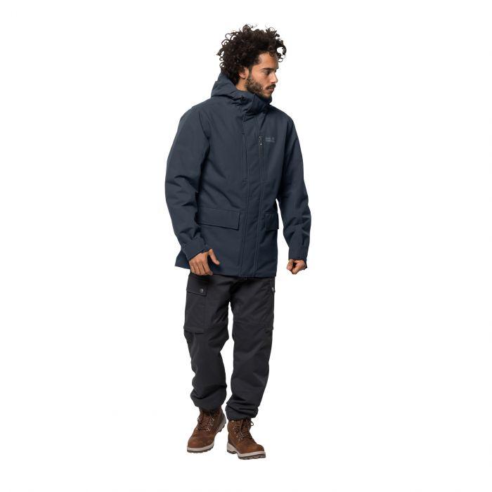 tanie trampki całkiem tania buty do separacji Męska kurtka zimowa WEST COAST JACKET night blue