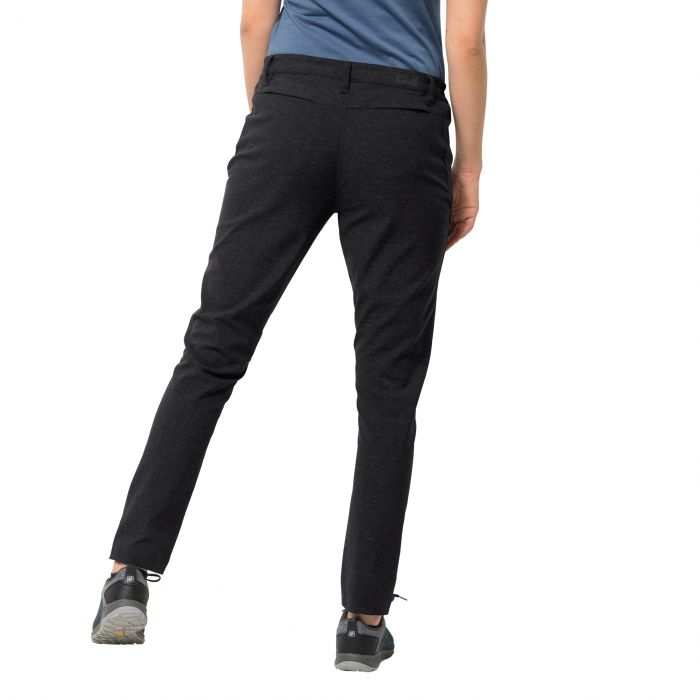 Damskie spodnie WINTER TRAVEL PANTS WOMEN 1505081 6000 JACK WOLFSKIN