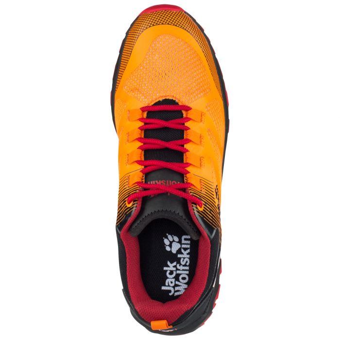 Buty sportowe męskie FAST STRIKER LOW M orange red