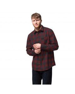 Męska koszula RED RIVER SHIRT Cordovan Red Checks
