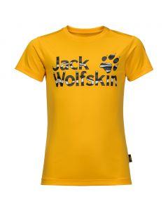 Dziecięca koszulka JUNGLE T KIDS burly yellow XT