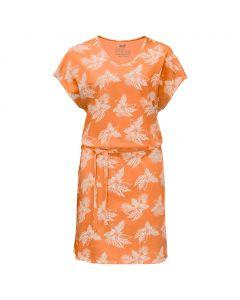 Sukienka TROPICAL DRESS papaya all over
