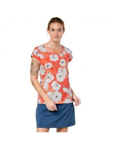 Koszulka MARIGOLD T hot coral all over