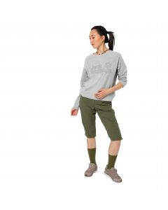 Spodnie damskie KALAHARI 3/4 PANTS WOMEN delta green