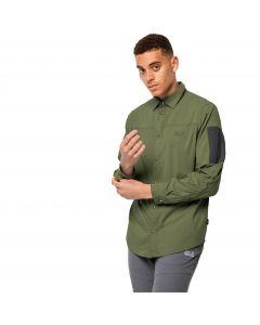 Koszula męska KENOVO LS SHIRT M light moss