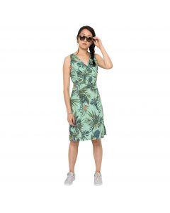 Sukienka WAHIA TROPICAL DRESS light jade all over