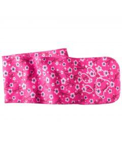 Szalik dla dziecka PRINT SCARF KIDS pink fuchsia allover