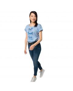 T-shirt damski SALT SAND SEA T W ice blue