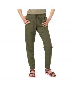 Spodnie damskie MOJAVE PANTS W delta green