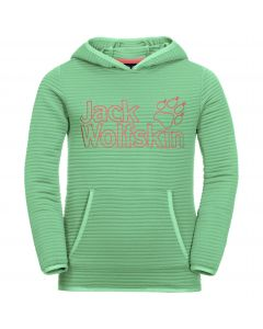 Bluza polarowa dziecięca MODESTO HOODY KIDS spring green