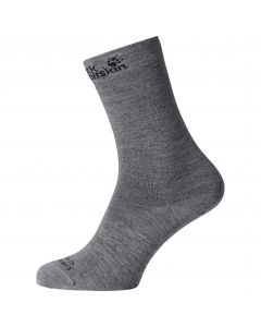 Skarpety MERINO CLASSIC CUT SOCKS grey heather