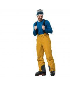 Spodnie EXOLIGHT PANTS MEN golden yellow