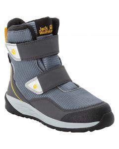 Buty zimowe dla dzieci POLAR BEAR TEXAPORE HIGH VC K pebble grey / burly yellow XT