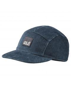 Czapka z daszkiem NATURE CORDUROY CAP Dark Slate