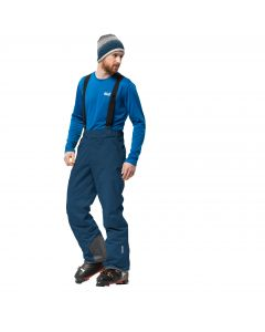 Spodnie EXOLIGHT PANTS MEN poseidon blue