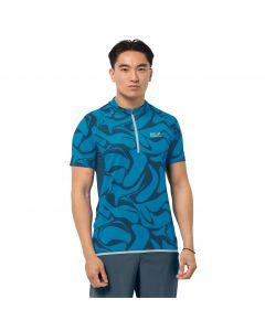 Koszulka rowerowa męska GRADIENT T M blue pacific all over