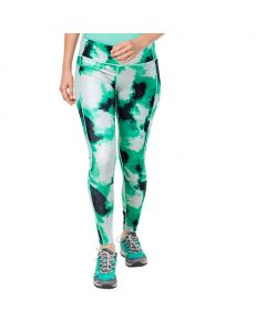 Legginsy ATHLETIC CLOUD TIGHTS WMN deep mint all over