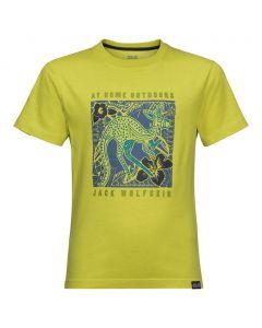 Chłopięca koszulka KUKU TRAIL T BOYS green lime