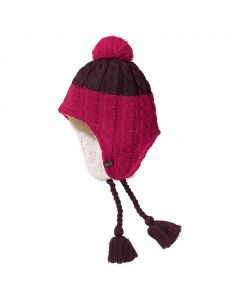 Czapka POLAR BEAR KNIT HAT KIDS dark berry