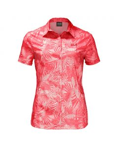 Koszula SONORA JUNGLE SHIRT hot coral all over