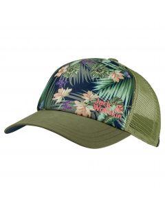 Czapka damska PARADISE CAP WOMEN light moss all over
