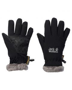 Rękawice SOFTSHELL HIGHLOFT GLOVE KIDS black