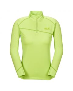 Koszulka ACTIVE ZIP SHIRT XT W sharp green