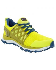 Buty na wędrówki TRAIL INVADER SHIELD LOW M lime / blue