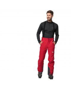 Spodnie narciarskie męskie BIG WHITE PANTS M red lacquer