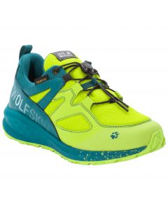 Buty dla dzieci UNLEASH 2 SPEED TEXAPORE LOW K lime / dark green