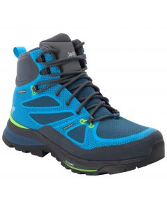 Buty w góry męskie FORCE STRIKER TEXAPORE MID M blue / green