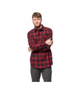 Męska koszula RED RIVER SHIRT red lacquer checks