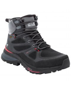 Buty w góry damskie FORCE STRIKER TEXAPORE MID W black / red