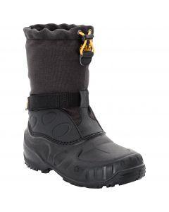 Buty zimowe dla dzieci ICELAND HIGH K black / burly yellow XT