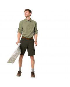 Koszula męska LAKESIDE ROLL-UP SHIRT M khaki