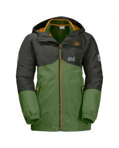 Chłopięca kurtka 3w1 B ICELAND 3IN1 JKT antique green