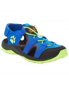 Sandały dziecięce OUTDOOR ACTION SANDAL K blue / lime