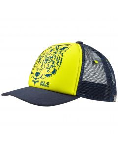 Czapka dziecięca ANIMAL MESH CAP KIDS flashing green