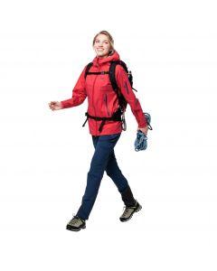 Kurtka trekkingowa damska EXOLIGHT PRO JACKET W tulip red
