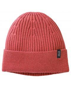 Czapka zimowa COSY CAP Coral Red