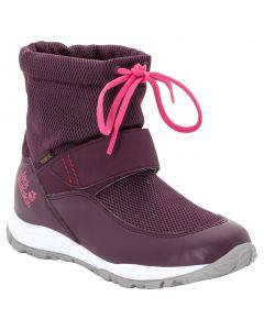 Buty zimowe dla dzieci KIWI WT TEXAPORE MID K purple / pink