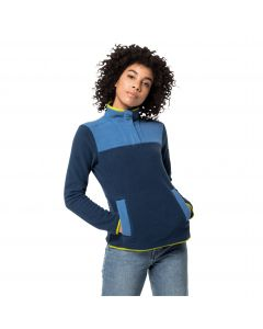 Bluza polarowa damska 365 FLASH FLEECE W dark indigo