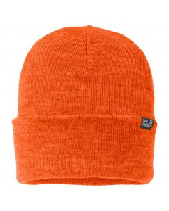Czapka Jack Wolfskin  RIB HAT Volcano Orange